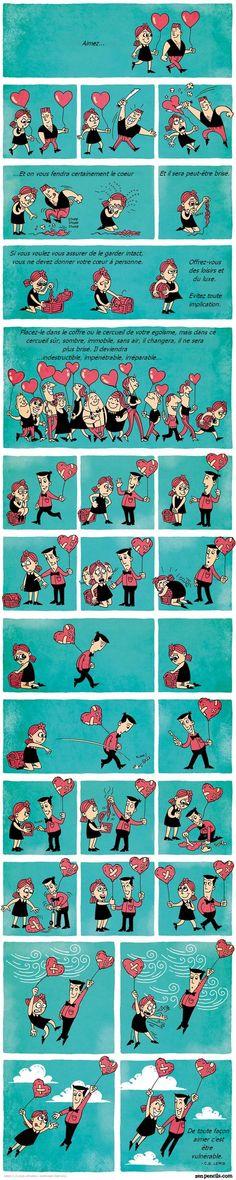 Cette BD sur l'amour va toucher votre cœur!