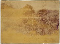 Autumn Effect  1890  Edgar Degas, French, 1834–1917  DIMENSIONS  Platemark: 30 x 40.2 cm (11 13/16 x 15 13/16 in.); Sheet: no margins, the sheet has been clipped to the edge of the platemark  MEDIUM OR TECHNIQUE  Color monotype