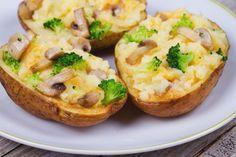 patate ripiene con brocoli