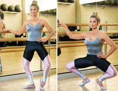 Copie o treino de Ballet Fitness que desenhou as curvas de Karina Bacchi Treino das Famosas