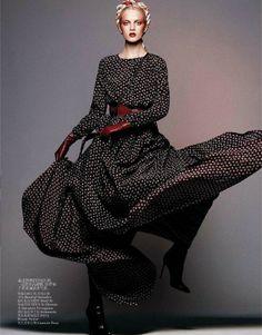 ☆ Daria Strokous | Photography by Daniel Jackson | For Vogue Magazine China | October 2012 ☆ #Daria_Strokous #Daniel_Jackson #Vogue #2012