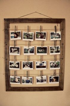diy photo wall ideas without frames photo wall idea vintage photo frame diy wall picture frame ideas Home Crafts, Diy Home Decor, Room Decor, Diy Crafts, Geek Crafts, Arts And Crafts, Diy Interior, Interior Decorating, Decorating Ideas