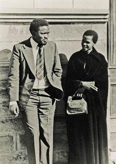 "Steve Biko and Mamphela Ramphele ""conversations over ciggies"" Steve Biko, Vintage Black Glamour, Black Kids, Black Child, African Diaspora, My Black Is Beautiful, African History, Black Power, History Facts"