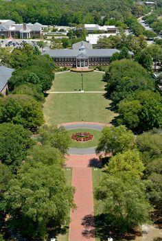 UNCW - pretty campus