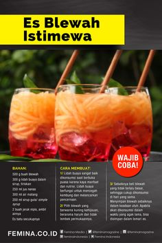 Indonesian Food Traditional, Beverages, Drinks, Meal Planner, Kitchen Recipes, Diy Food, Food And Drink, Menu, Ice Cream