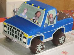 Connor - b'day cake! lol  ford truck#Repin By:Pinterest++ for iPad#