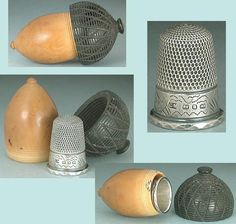 US $68.00 in Antiques, Sewing (Pre-1930), Thimbles