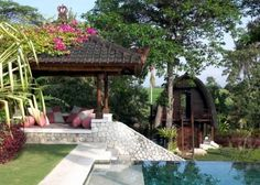 Bali House In Colonial Style With Local Art Works Bali is a true Paradise on earth. This Villa in colonial style is located here. The house has all ch...