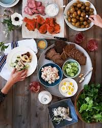 How to Throw a Wildly Hip Scandinavian Sandwich Party in Bon Appetit Bon Appetit, Antipasto, Mezze, Party Sandwiches, Scandinavian Food, Danish Food, Think Food, Cooking Recipes, Healthy Recipes