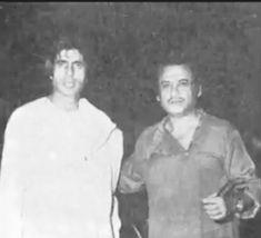 With Amitabh Bachchan.