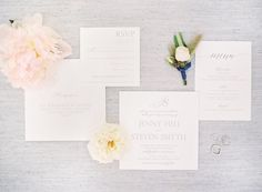 Stationery: Wiley Valentine - http://www.stylemepretty.com/portfolio/wiley-valentine Photography: Brandon Kidd Photography - brandonkidd.net   Read More on SMP: http://www.stylemepretty.com/2016/07/20/a-ranch-wedding-featuring-pantone-colors-of-2016/