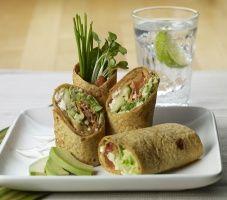 Mediterranean Grilled Veggie Wrap with California Avocado Spread | California Avocado Commission