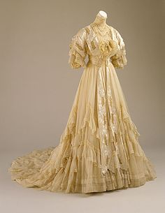 Wedding Dress 1894 US