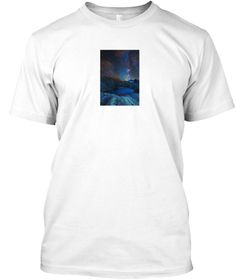 Cosmic Stuffs White T-Shirt Front