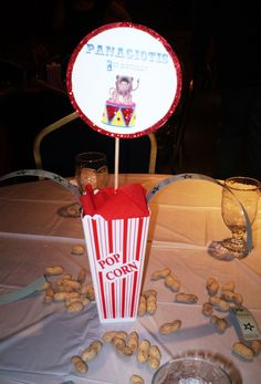Circus Birthday Party Centerpiece