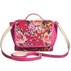 Dolce & Gabbana Girls Black & Gold 'Crown' Leather & Chain Bag ...