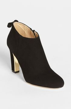 kate spade new york 'netta' bootie Womens Black Suede Size 7 M 7 M on shopstyle.co.uk