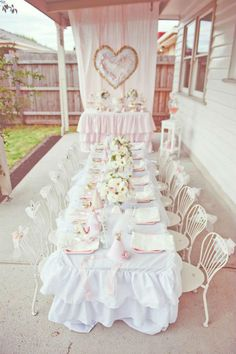 PASTELParty- Sweet Girly - dessert or tea party