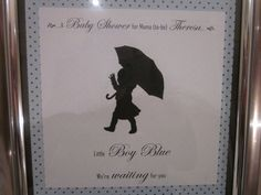 """Photo 1 of 20: Baby Shower/Sip & See """"Little boy blue, we're waiting for you.""""   Catch My Party"""