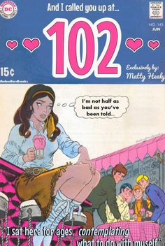 102 by the 1975 The 1975 Poster, The 1975 Songs, The 1975 Lyrics, Comic Poster, Comic Art, Comic Books, Poster Wall, Vintage Comics, Vintage Posters