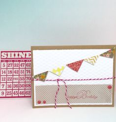 Birthday Greeting Card For Her - Paper Handmade Greeting Card - Birthday Cards For Girls - Stationery - Paper Goods -Pink Birthday Cards by byLisaCardsCrafts on Etsy   $4.99