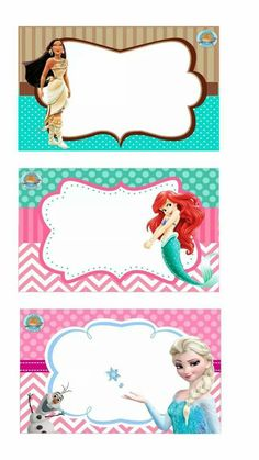 Victoria I Rivera Kínder Instituto Cultural Internacional Disney Princess Birthday Party, Autograph Book Disney, School Labels, Classroom Labels, Disney Printables, Free To Use Images, Note Paper, Printable Stickers, Diy And Crafts