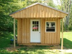 How to Build a 12x20 Cabin on a Budget : 15 Steps (with Pictures) - Instructables Log Cabin Floor Plans, Log Home Plans, Cabin Plans, Shed Plans, Barn House Plans, Building A Small Cabin, Building A Shed, Building Plans, Building Ideas