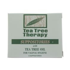 Tea Tree Therapy Tea Tree Suppositories (1x6 PK)