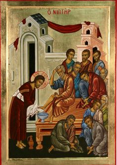 Christ & the Washing of the feet