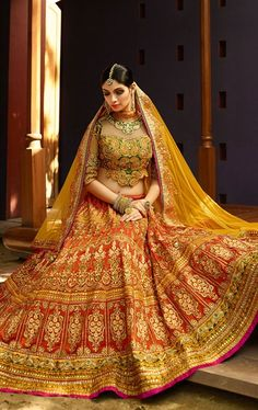 Indo westenrn collection for men and Women — Wedding Bells for This Season, Buy Bridal Lehenga
