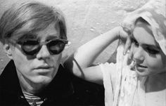 Andy and Edie Andy Warhol, Poor Little Rich Girl, Edie Sedgwick, Chelsea Girls, Vogue Magazine, Superstar, Actresses, Model, Squad