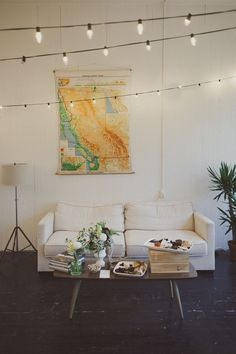 I like the plants and the simplicity with the white lounge