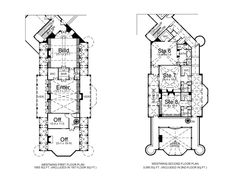 BalmoralHouse Plan:6story,22188square foot,12bedroom,12full bathrooms home plan- west wing