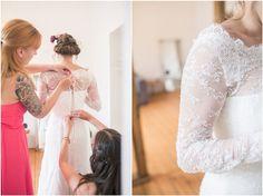Getting Ready, Braut, Spitze, Brautkleid, Brautkleid im Detail, Foto: Violeta Pelivan
