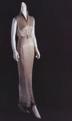 Actress Janet Leigh wore this Edith Head gown to the 1959 Academy Awards.
