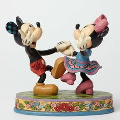 Jim Shore Mickey & Minnie Dancing | For your favorite dance partner!