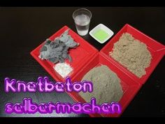 Tutorial: Make kneading concrete easily and cheaply 2 variants - Beton - Tips & Tricks Ballon Diy, Clay Bowl, Cement Crafts, Diy And Crafts, Balloons, Homemade, Youtube, Diy Esstisch, Diy Concrete
