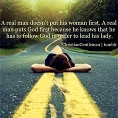 A man who follows God