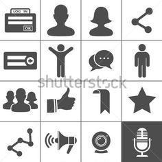 Síť DE ikony Simplus vektorové ilustrace clip art - ClipartLogo.com