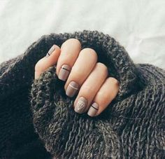 Make an original manicure for Valentine's Day - My Nails Nail Manicure, Diy Nails, Nail Polish, Glitter Nails, Diy Nail Designs, Art Designs, Diy Design, Design Art, Trendy Nail Art
