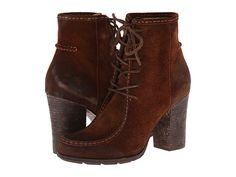 Frye Parker Moc Short Brown Oiled Suede - Zappos.com Free Shipping BOTH Ways