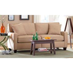 Coco Track Arm Sofa, Ivory--$309