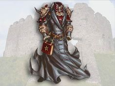 Concept dark armor by Gloroh