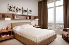 Stylish and refreshing small bedroom design 10 Small Bedroom Decorating Tips