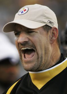 Former Pittsburgh Steelers coach Bill Cowher will remain out of coaching in… Go Steelers, Pittsburgh Steelers Football, Pittsburgh Sports, Steelers Stuff, American Sports, American Football, Jack Lambert, Football Conference, Steeler Nation