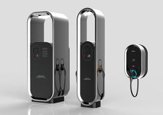 Electric Car Charger, Ev Charger, Electric Station, Don Du Sang, Car Charging Stations, Id Design, Design Fields, Communication Design, Design Strategy