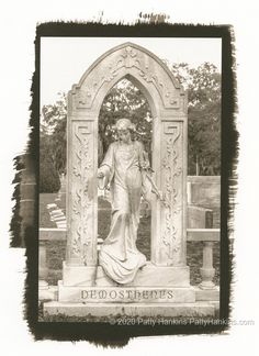 Demosthenes Grave, Greenwich Cemetery, Savannah, Georgia Palladium Toned Kallitype – New Photo :: Beautiful Flower Pictures Blog
