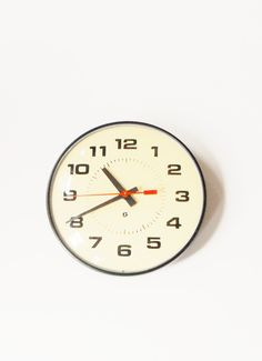 How many hours total did I end up staring at this? // Vintage School Clock