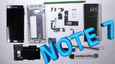 Galaxy Note 7 Teardown - Screen Repair, Charging Port Fix, Battery Replacement