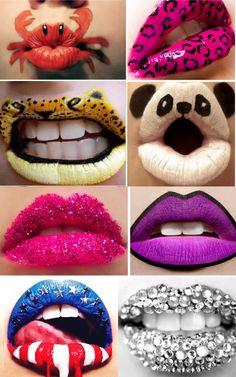 Actus Beaute - Sur Nos Lèvres.... Le Lip Art !